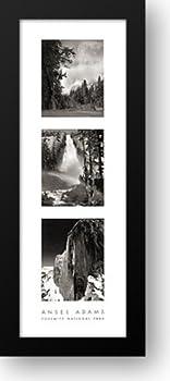 Yosemite National Park 14x40 Framed Art Print by Adams Ansel