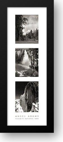 Yosemite National Park 14x40 Framed Art Print by Adams, Ansel