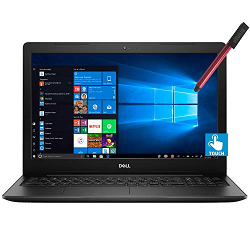 Dell Inspiron 15 15.6' FHD Touchscreen Laptop Computer_ Intel Quard-Core i7 1065G7 up to 3.9GHz_ 32GB DDR4 RAM_ 2TB PCIe SSD_ AC WiFi_ HDMI_ Webcam_ Remote Work_ Windows 10_ BROAGE 64GB Flash Stylus