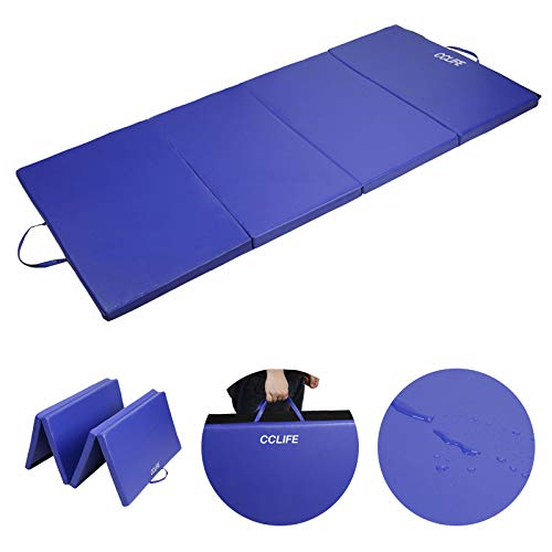CCLIFE Turnmatte Weichbodenmatte Klappbar für zuhause Fitnessmatte Gymnastikmatte rutschfeste Sportmatte Spielmatte