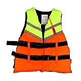 VCMUTRL Giubbotto di salvataggio per bambini e adulti, aiuto di galleggiamento per canottaggio, kayak, paddle Boarding Water Sports, multifunzione, regolabile