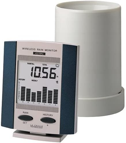 La Crosse Technology WS-7038UF Wireless 無料サンプルOK Rain 大人気 Monitor