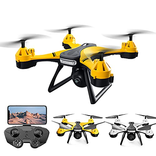 X101 RC Drone con fotocamera HD 4K 2.4G Telecomando Quadcopter per principianti e bambini