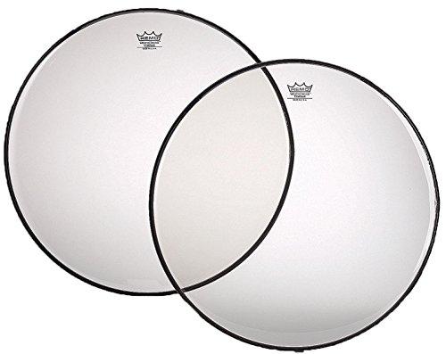 Remo Timpani, Renaissance®, 28–1/5,1cm Durchmesser, Aluminium Einsatz Ring, transparente Folie