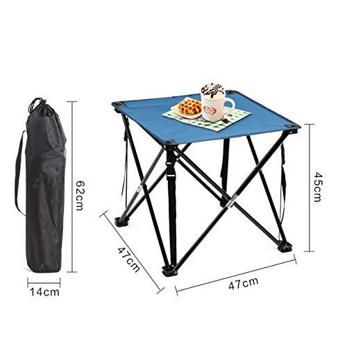 ZFLL Klaptafels en stoelen – nique ultralichte outdoor klaptafel en stoelen camping aluminium picknicktafel waterdicht en duurzaam klaptafel campingtafel