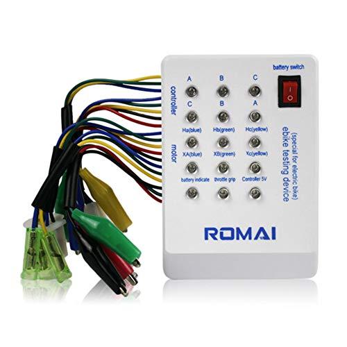 Alicer 24 V 36 V 48 V 60 V 72 V Brushless Motor Controller Detektor Batterie Tester für Elektroauto Roller E-Bike Roller