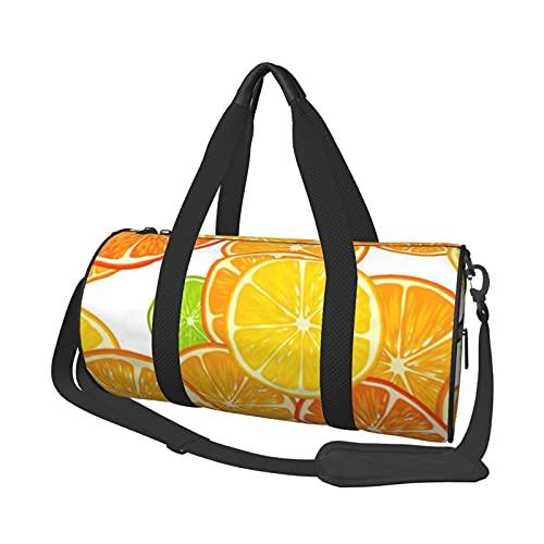 MBNGDDS - Borsone da viaggio a fette, leggero, pieghevole, impermeabile, con tracolla, borsa sportiva da palestra per uomini e donne, Come mostrato, Taglia unica,