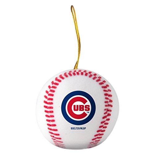 Boelter Brands MLB Chicago Cubs Plush Ball Ornament