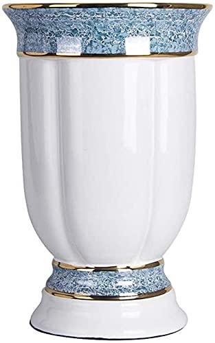 Décoration Vase moderne Simple Beau Vase en céramique de style européen de style européen Porche Décoration souple Grand ornement de...