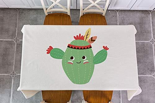 XXDD Mantel de decoración de Flecha de Plumas de Animales de Dibujos Animados, Mantel de decoración Impermeable, Mantel de té, Mantel A12 135x180cm