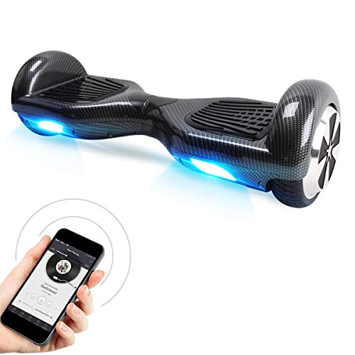 "Hoverboard, 6.5"" Elektro Scooter mit 2 * 250W Motor, LED Lights, Self Balance Scooter E-Skateboard"