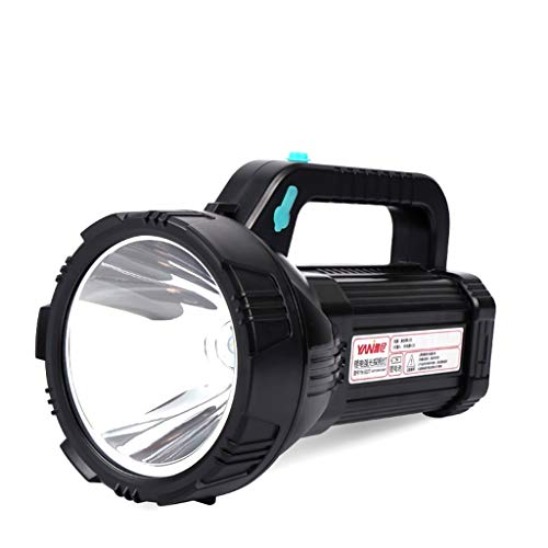 mingL LED Portable Light Searchlight, Rechargeable Super Bright Remote Multi-Function Xenon Flashlight, 1000W Light Source 18650 Lithium Battery A++