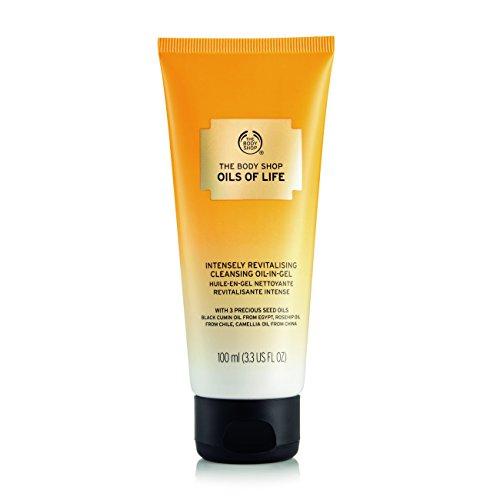 The Body Shop huiles de vie Intensément revitalisant Gel nettoyant Oil-in - Ce riche Formule Gel