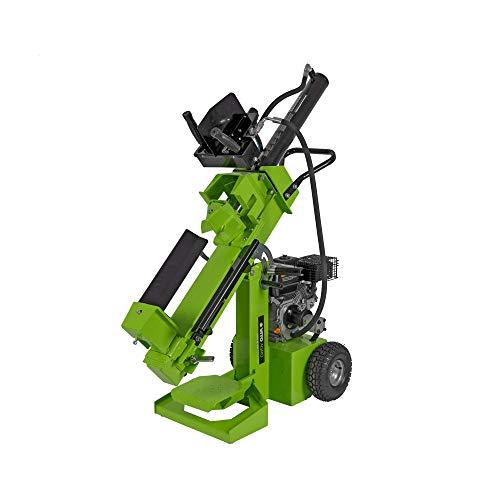 VITO Garden Benzin Holzspalter 12t mit 3 Arbeitspositionen, leistungsstarker 4T-Verbrennungsmotor mit 7 PS / 5200W, EURO 5 max L 520mm D 300mm – 12 Tonnen Holzspalter benzin - VIRLG12