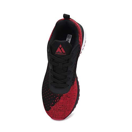 Mishansha Zapatillas de Deporte para Hombre Mujeres Zapatillas de Deporte Ligeras y Transpirables Zapatos Deportivas Zapatillas para Fitness Jogging y Running