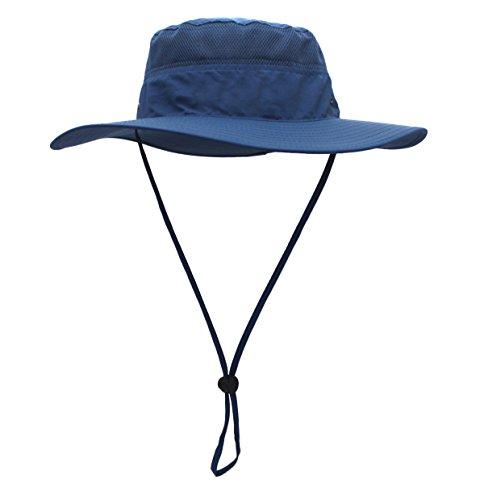 GG ST Sonnenhut Herren Damen UPF 50+ Outdoor UV Schutz Mesh Summer Hut Hiking Fischerhut Strand Faltbar Buschhüte Cap