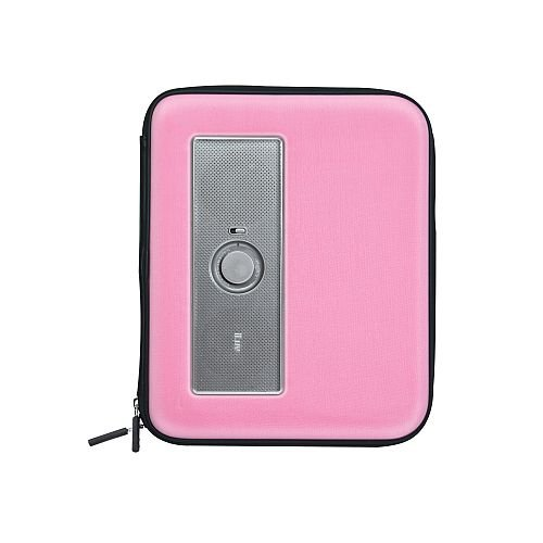 iLuv isp210Schutzhülle mit Lautsprecher für Tablet iPad 1& 2/Samsung Galaxy Tab rosa