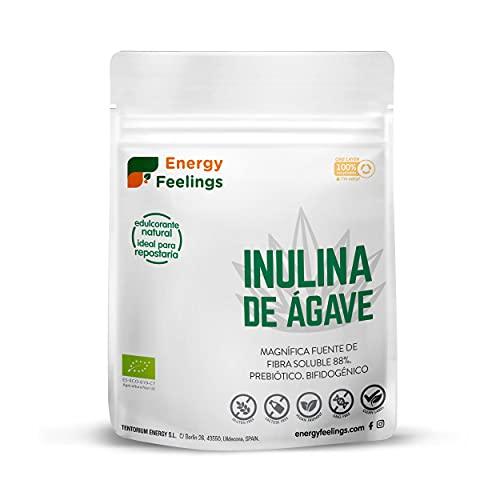 Energy Feelings Inulina de agave ecológica - 200g | prebiotico | rico en fibra | control de peso