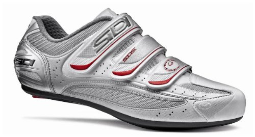 SIDI Nevada Rennrad-Schuhe - Farbe silber/weiss - Größe 42