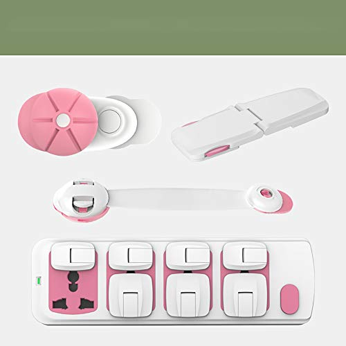 Kinderveiligheidsslot Baby Anti-Clip kabinet kabinet deur slot Baby bescherming kabinet sloten Pink suit