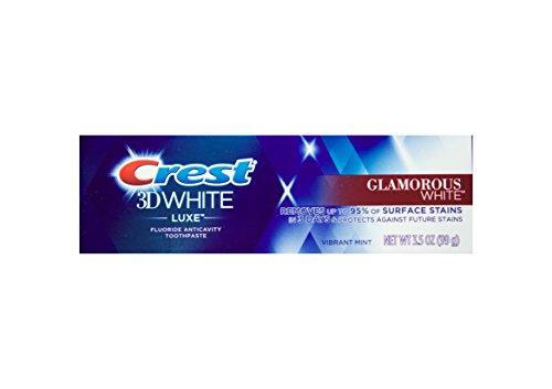 CREST 3DWhite Luxe Glamorous White bleichende Zahnpasta mit Fluoride 99g USA