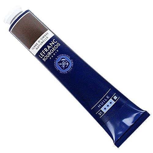 Lefranc & Bourgeois feine Ölfarbe, 150ml, geschmeidige & hoch pigmentierte Ölfarbe - Umbra Natur