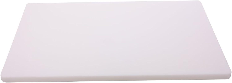 Schneidbrett weiß 60 x 40 x 2 cm B01685CAZ8