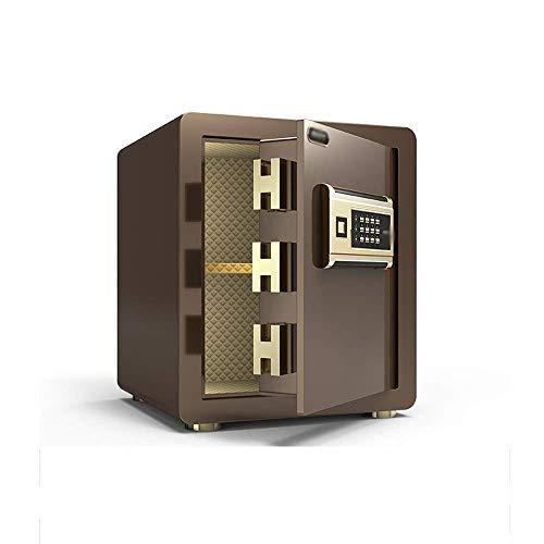 Caja De Seguridad Fuerte Caja De Seguridad Electrónica Digital De Alta Seguridad Caja Fuerte De Anclaje A La Pared A Prueba De Fuego,con Función De Alarma Caja De Acero con Cerradura Caja De Efecti