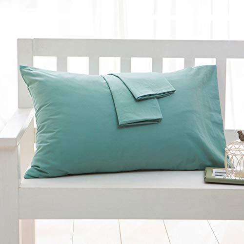 QZH Taie d'oreiller Set de 2, Doux et Confortable, Rides, s'estomper,B,74cm*48cm/29.13 * 18.89 inch