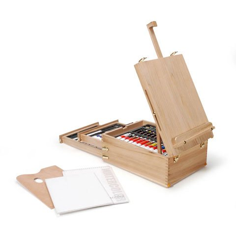 Royal & Langnickel All Media Easel Artist Set Includes Quality Artist Materials, 104 Pieces
