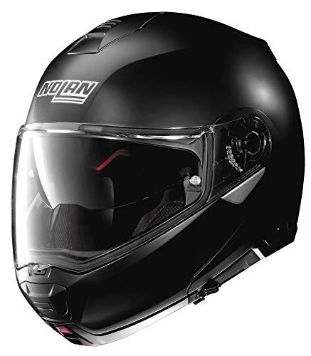 Nolan N100-5 Solid Helmet Flat Black (Black, X-Large)