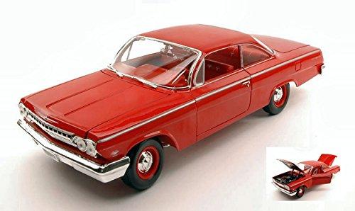 Maisto MI31641R Chevrolet Bel Air 1962 Red 1:18 MODELLINO Die Cast Model Compatibile con
