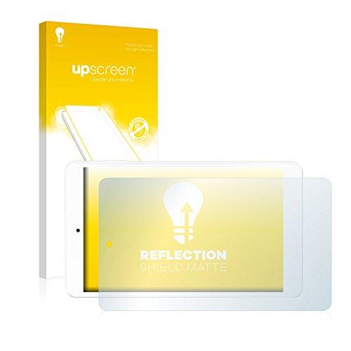 upscreen Entspiegelungs-Schutzfolie kompatibel mit Odys TigerTab 8 – Anti-Reflex Displayschutz-Folie Matt