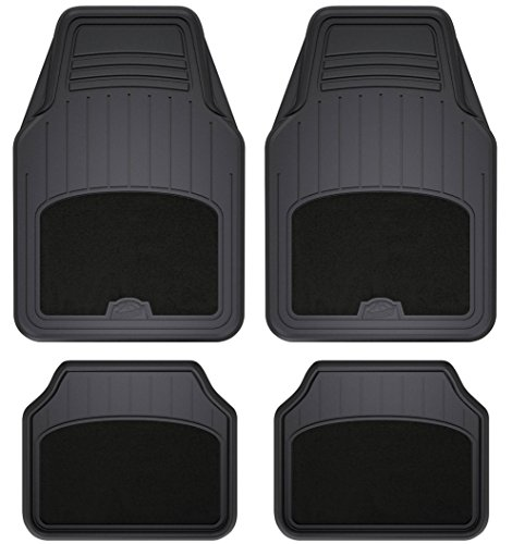 Armor All 78890 4-Piece Black All Season Carpet & Rubber...