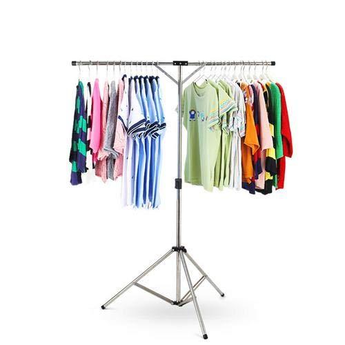 Étendoir à Bras Etendage, Étendoir à Linge Pliant en Acier Inoxydable Réglable,Séchoir à Linge Etendoir Sèche-Linge Porte-vêtements Tubes Pliable - Interieur Extérieur - Pour Vêtements