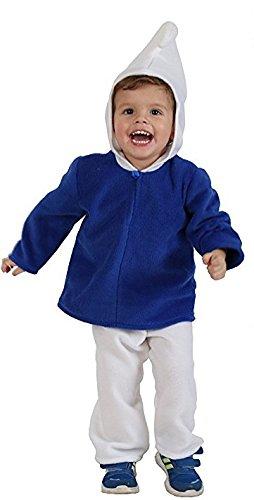 """Kostüm für Kleinkinder """"Blauer Zwerg"""", Babykostüm (86)"""