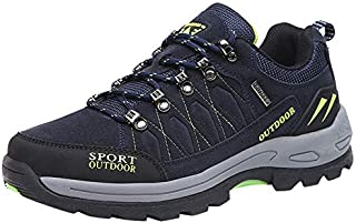 Londony Hiking Shoes Men Lightweight Low Hiking Shoe Advanced Traction Technology Outdoor Low-Top Trekking Shoes