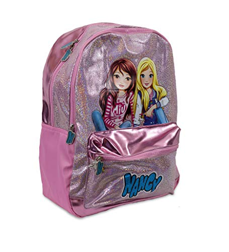 Nancy - Mochila Escolar con Dos Compartimentos y Materiales Premium para niños y niñas a Partir de 3 años (Famosa 700016028)