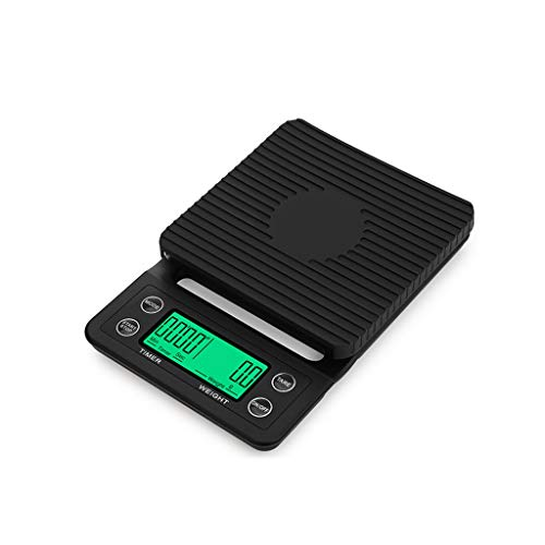 MENGQ Báscula De Cocina, Báscula Digital De Plástico De Escala Electrónica, Café Que Pesa 3 Kg / 5 Kg (Size : 5kg)
