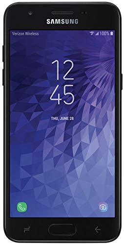 "Samsung Galaxy J3 2018 16GB Verizon Wireless (J337v CDMA) 5.5"" Android 7.1 Smartphone - Black (Renewed)"