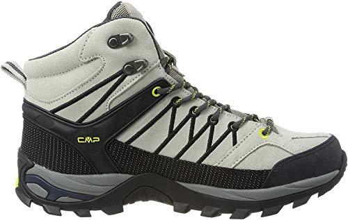 CMP Herren Rigel Mid Shoe Wp Trekking- & Wanderstiefel, Grau (Stone-Antracite 74uc), 46 EU