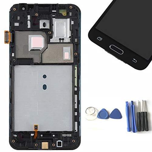 YGQersh Pantalla táctil LCD con Marco para Samsung Galaxy J3 J320M J320M J320F - Blanco