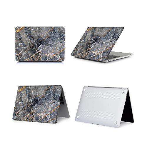 Peach-Girl Macbook Air 13 A2179 Hard Shell Marble Case Cover for Macbook Pro 16 A2141 Pro 13 A2289 A2251 Retina 15 Touch Bar ID-014-Model A1425 A1502