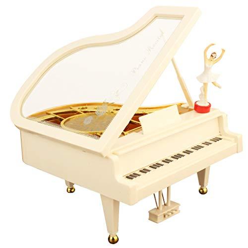 Zegeey Spieluhr Klassische Klavier Ballett Spieluhr Kreatives Festliche Geschenk Heimdekoration Desktop Ornament Valentinstag Muttertag Geburtstag Jahrestag Hochzeit