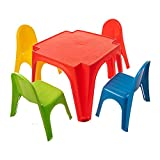 Starplay Children's Table & Chair Set, Primary Colors (52900)