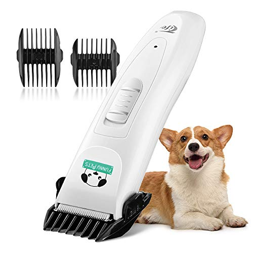 OCOOPA Rechargeable Cordless Grooming Clippers Kit for Dogs Cats, Electric Hair Clippers Cordless,...