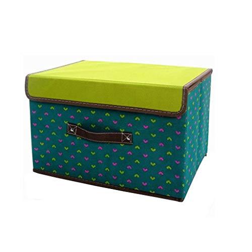 Home Storage stapelbare Lidded Kleidung Box for Aufbewahrung von Kleidung Bettwäsche Kabinett Lagerkästen for Schlafzimmer Bäder und Flure