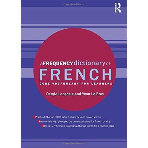 A Frequency Dictionary Of French Pdf
