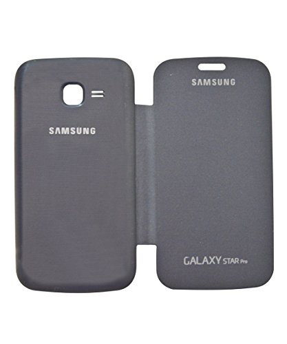 COVERNEW Flip Cover for Samsung Galaxy Star Pro S7260 - Black FlipGalaxyStarProS7260Black