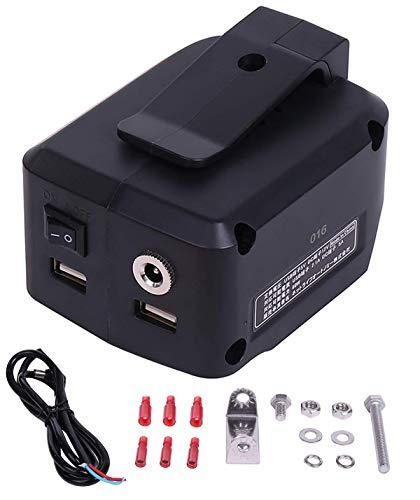 【スイッチ付】5A対応 マキタ USB アダプター 12V 5V 出力/ 14.4V 18V入力 NLAセレクト